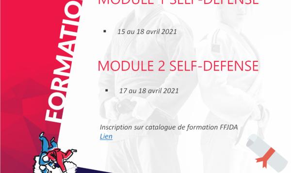 Stage National FFJDA en BFC !!! #SELFDEFENSE