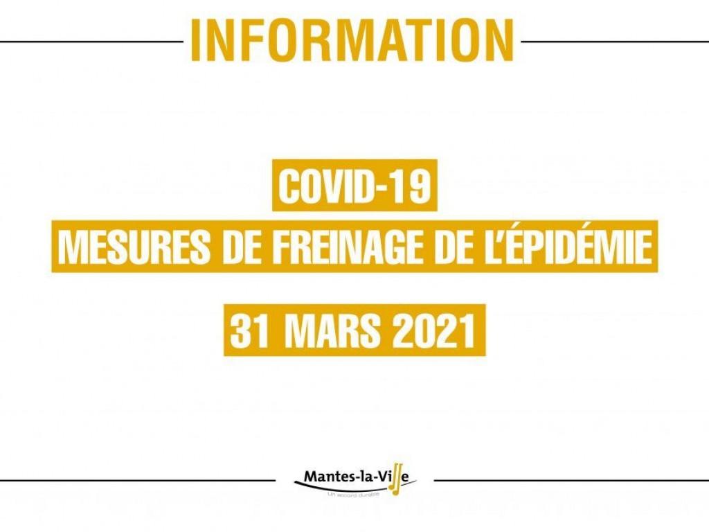 Image de l'actu 'DECISIONS SANITAIRE AU 03/04/2021'