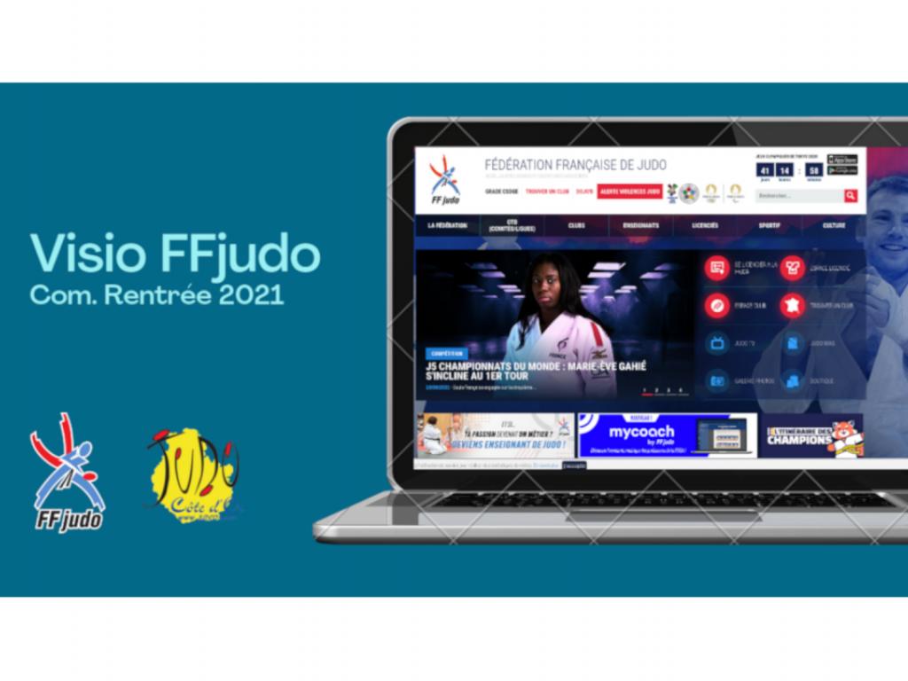 Image de l'actu 'Présentation FFJUDO - Communication Rentrée 2021'